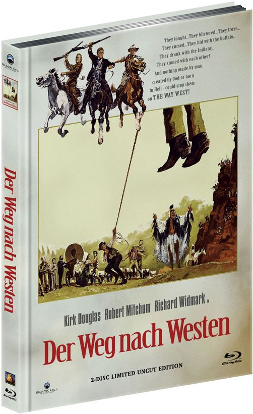 Weg nach Westen, Der (Lim. Uncut Mediabook - Cover B) (DVD + BLURAY)