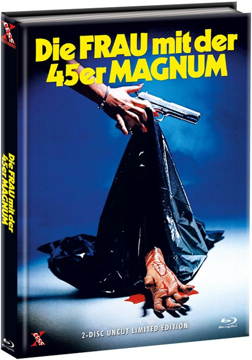 Frau mit der 45er Magnum, Die (Lim. Uncut Mediabook - Cover B) (DVD + BLURAY)