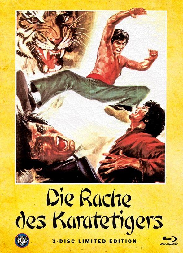 Rache des Karatetigers, Die (Lim. Uncut Mediabook - Cover A) (DVD + BLURAY)