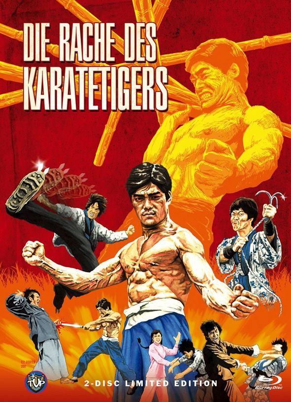 Rache des Karatetigers, Die (Lim. Uncut Mediabook - Cover C) (DVD + BLURAY)