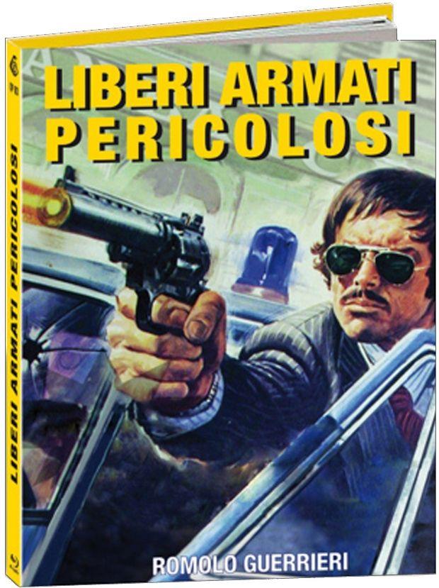 Liberi armati pericolosi - Bewaffnet und gefährlich (Lim. Uncut Mediabook - Cover A) (BLURAY)