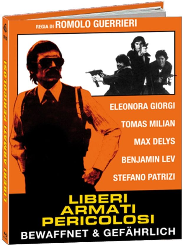 Liberi armati pericolosi - Bewaffnet und gefährlich (Lim. Uncut Mediabook - Cover B) (BLURAY)