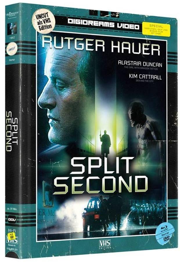 Split Second (Lim. Uncut Mediabook) (2 DVD + 2 BLURAY)