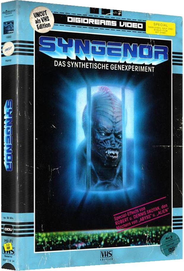 Syngenor - Das synthetische Genexperiment (Lim. Uncut Mediabook) (2 DVD + 2 BLURAY)