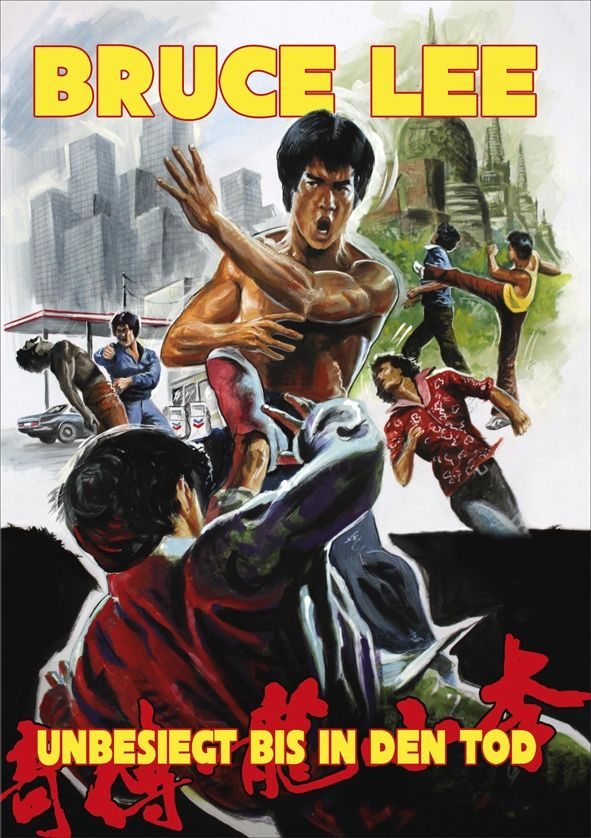 Bruce Lee - Unbesiegt bis in den Tod (Kl. Hartbox - Cover B)