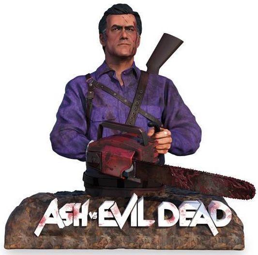 Ash vs Evil Dead - Staffel 1+2 (Lim. Uncut Special Box mit Büste) (4 Discs) (BLURAY)