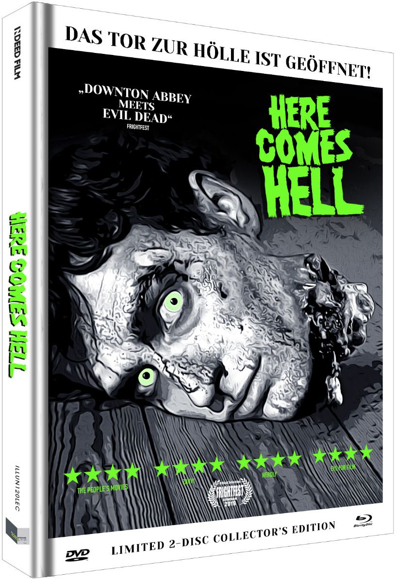 Here Comes Hell (Lim. Uncut Mediabook - Cover C) (DVD + BLURAY)