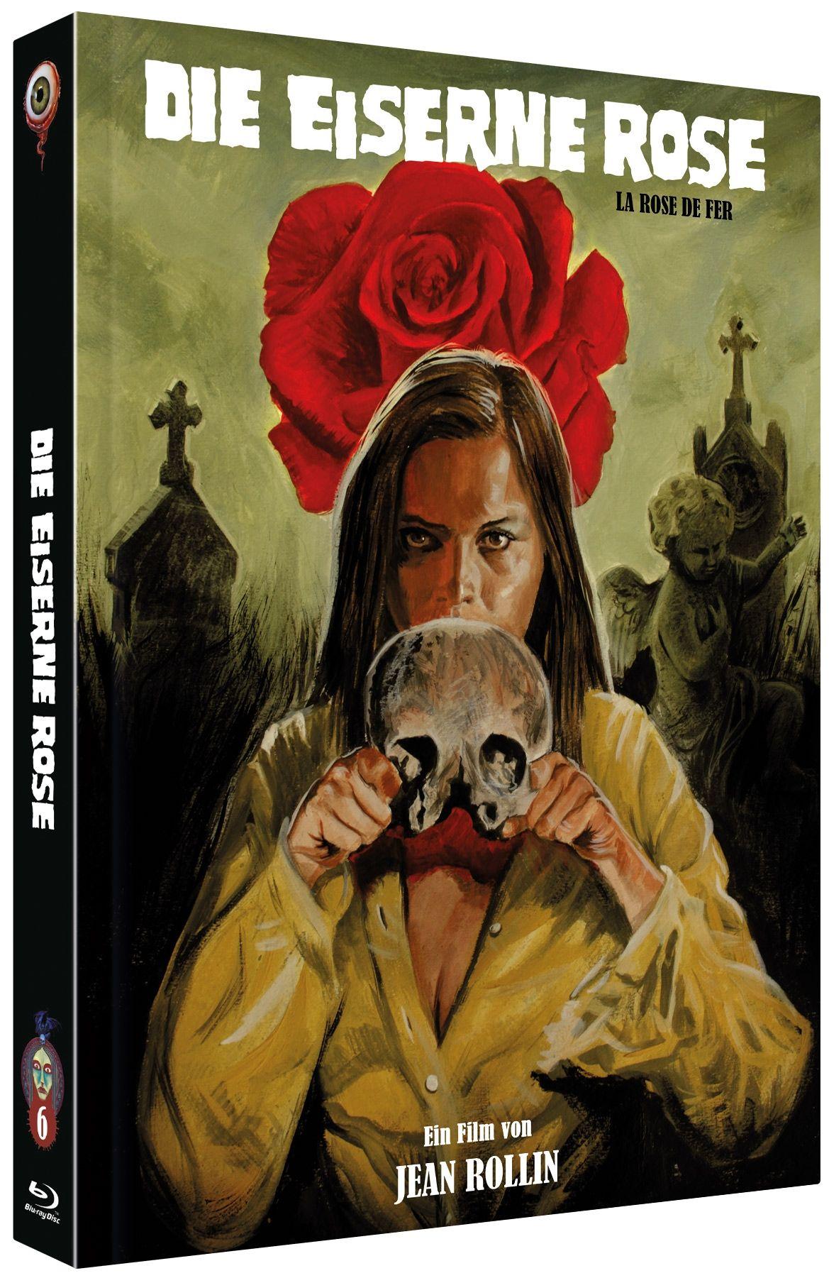 Eiserne Rose, Die (Lim. Uncut Mediabook - Cover C) (DVD + BLURAY)