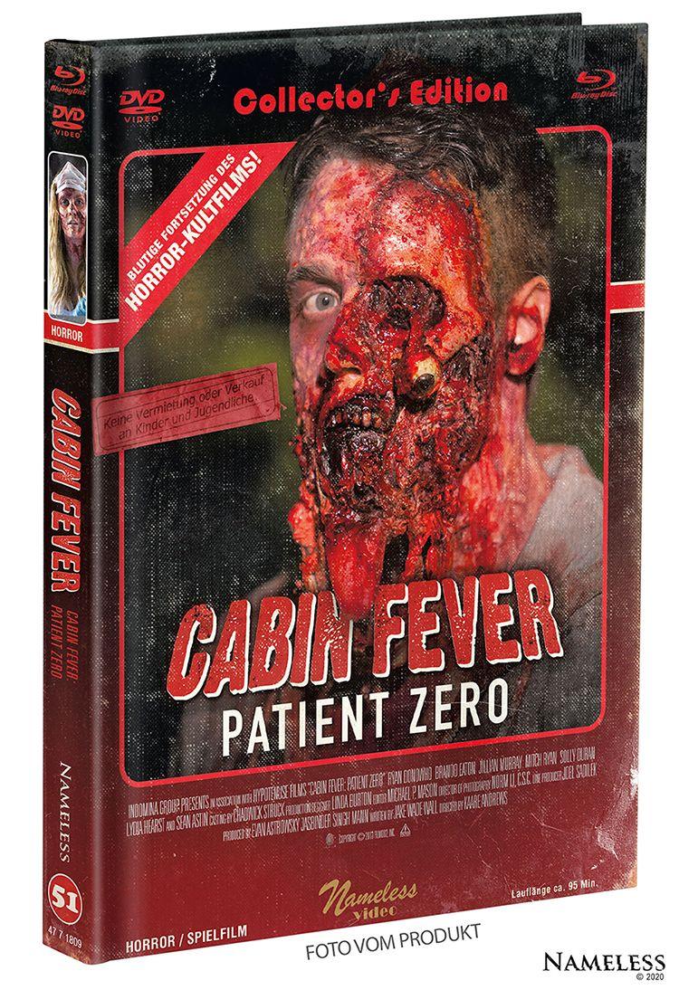 Cabin Fever 3 - Patient Zero (Lim. Uncut Mediabook - Cover B) (DVD + BLURAY)