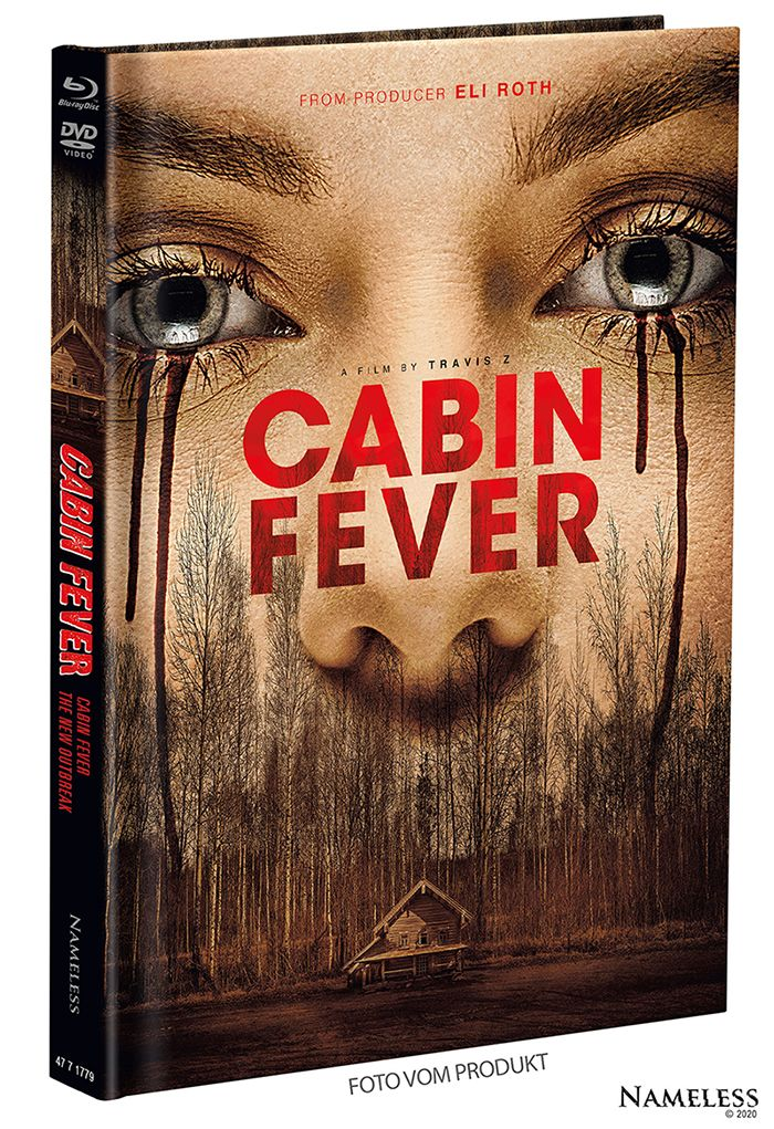Cabin Fever - The New Outbreak (Lim. Uncut Mediabook - Cover A) (DVD + BLURAY)