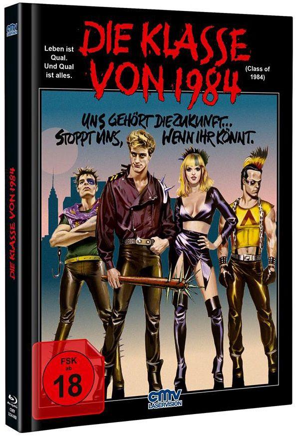 Klasse von 1984, Die (Lim. Uncut Mediabook) (Neuauflage) (DVD + BLURAY)