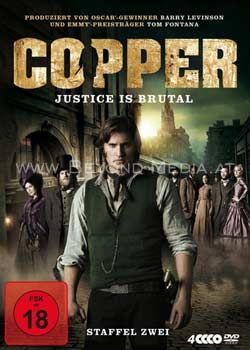 Copper: Justice Is Brutal - Staffel Zwei (4 Discs)