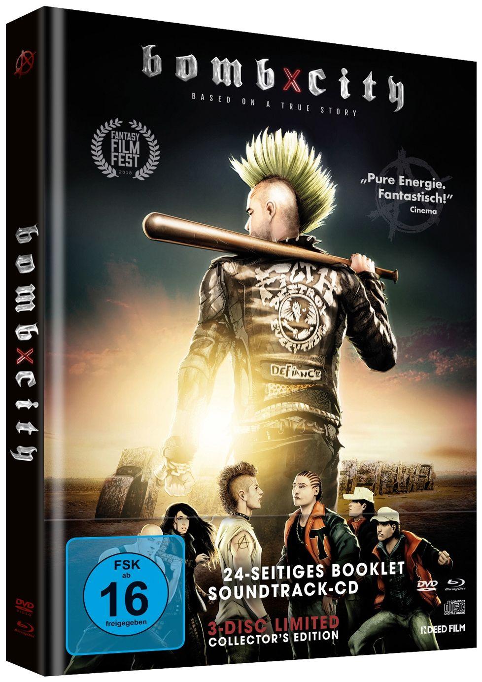 Bomb City (Lim. Uncut Mediabook) (3 Discs) (DVD + BLURAY)