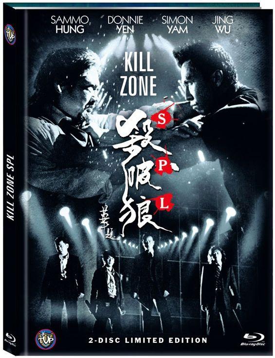 Kill Zone SPL (Lim. Uncut Mediabook - Cover A) (DVD + BLURAY)
