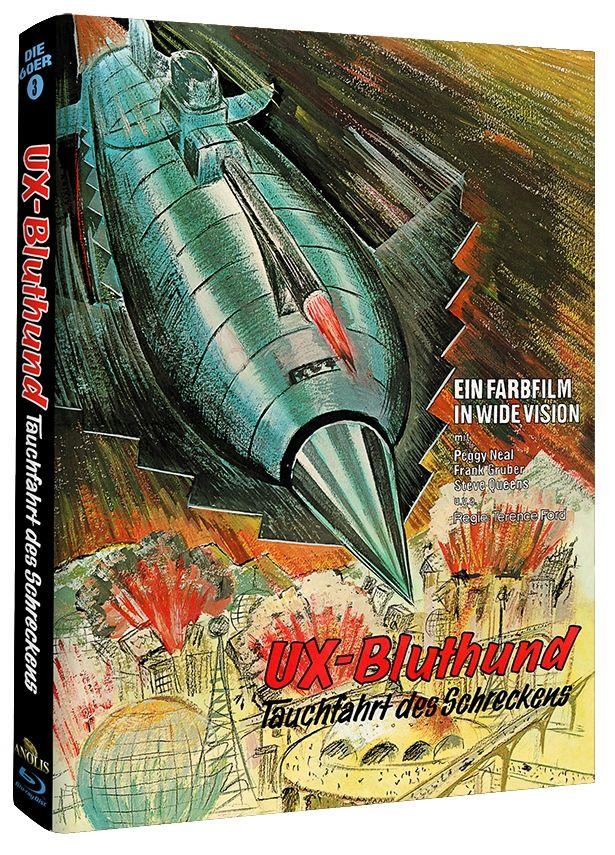 UX-Bluthund - Tauchfahrt des Schreckens (Lim. Uncut Mediabook - Cover A) (BLURAY)