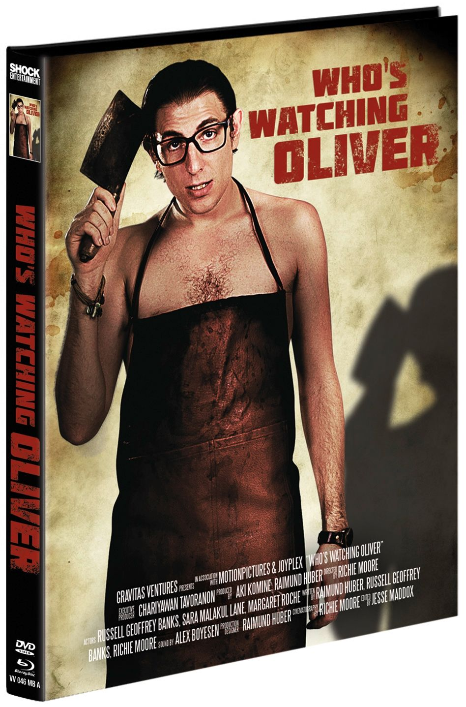 Who's Watching Oliver (Lim. Uncut Mediabook - Cover A) (DVD + BLURAY)