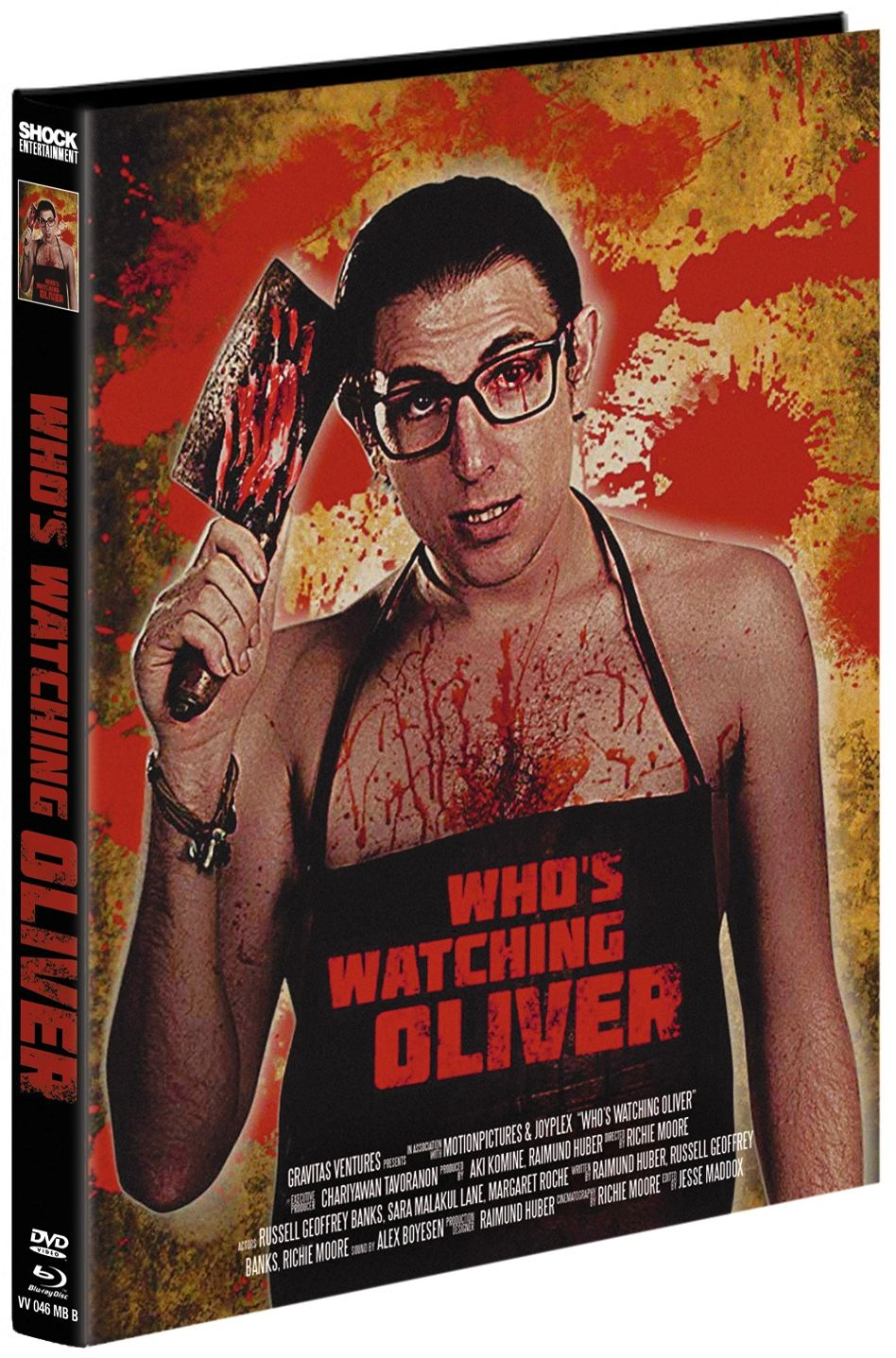 Who's Watching Oliver (Lim. Uncut Mediabook - Cover B) (DVD + BLURAY)