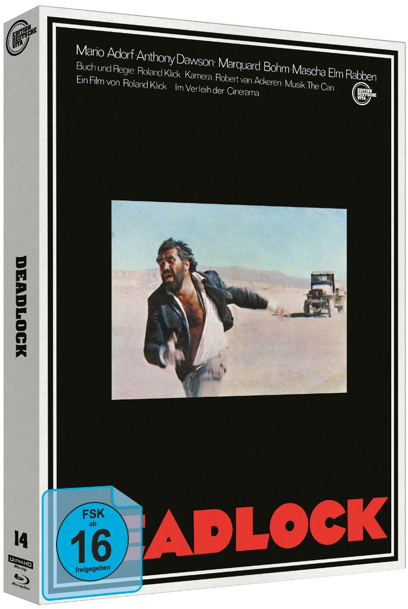 Deadlock (1970) (Lim. Edition - Cover B) (2 Discs) (UHD BLURAY + BLURAY)