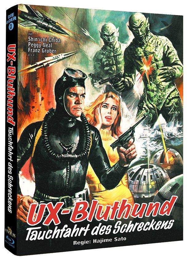 UX-Bluthund - Tauchfahrt des Schreckens (Lim. Uncut Mediabook - Cover B) (BLURAY)