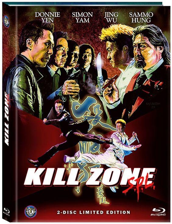 Kill Zone SPL (Lim. Uncut Mediabook - Cover C) (DVD + BLURAY)