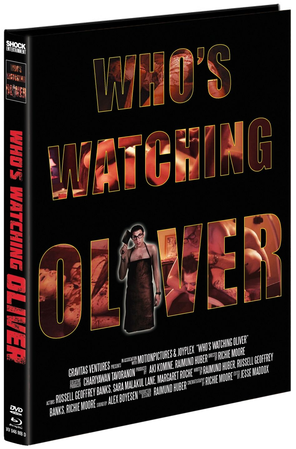 Who's Watching Oliver (Lim. Uncut Mediabook - Cover D) (DVD + BLURAY)