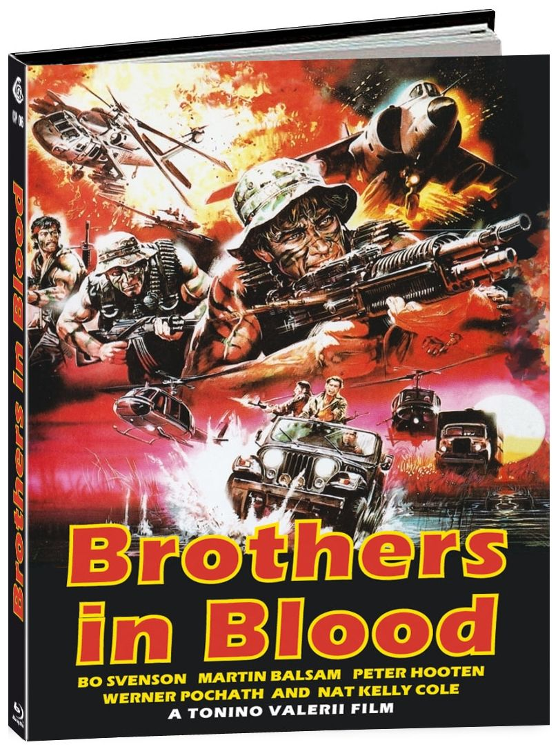 Brothers in Blood (Lim. Uncut Mediabook - Cover A) (BLURAY)