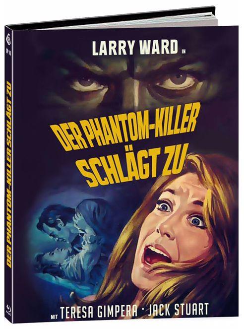 Phantom-Killer schlägt zu, Der (Lim. Uncut Mediabook - Cover E) (BLURAY)