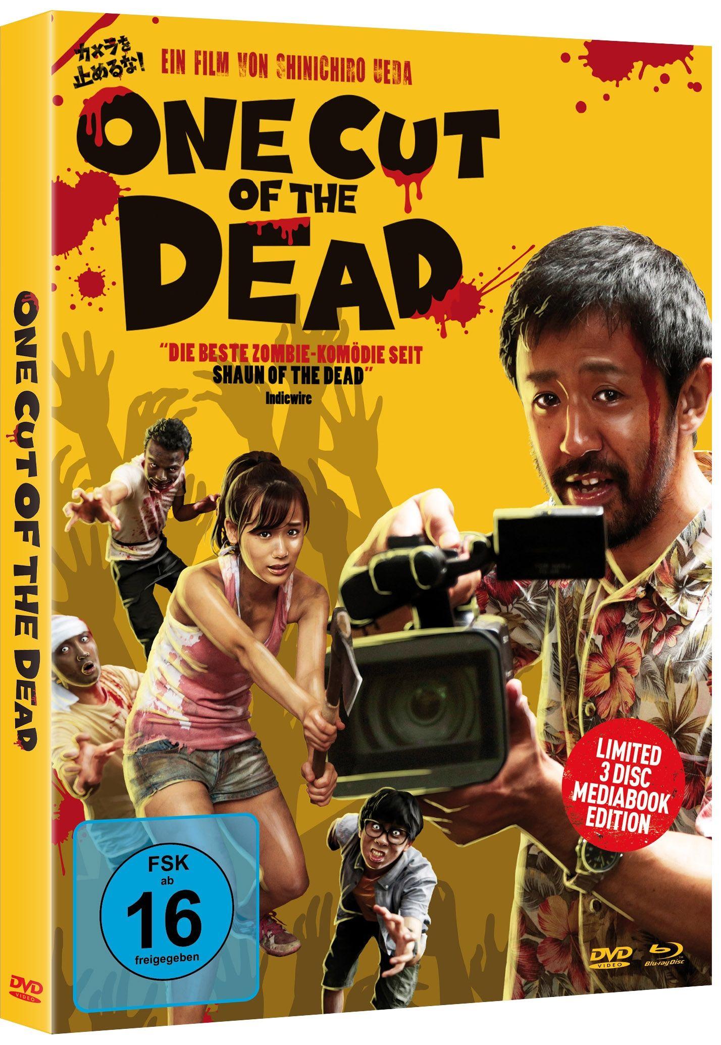 One Cut of the Dead (Lim. Uncut DVD-Format Mediabook) (2 DVD + BLURAY)