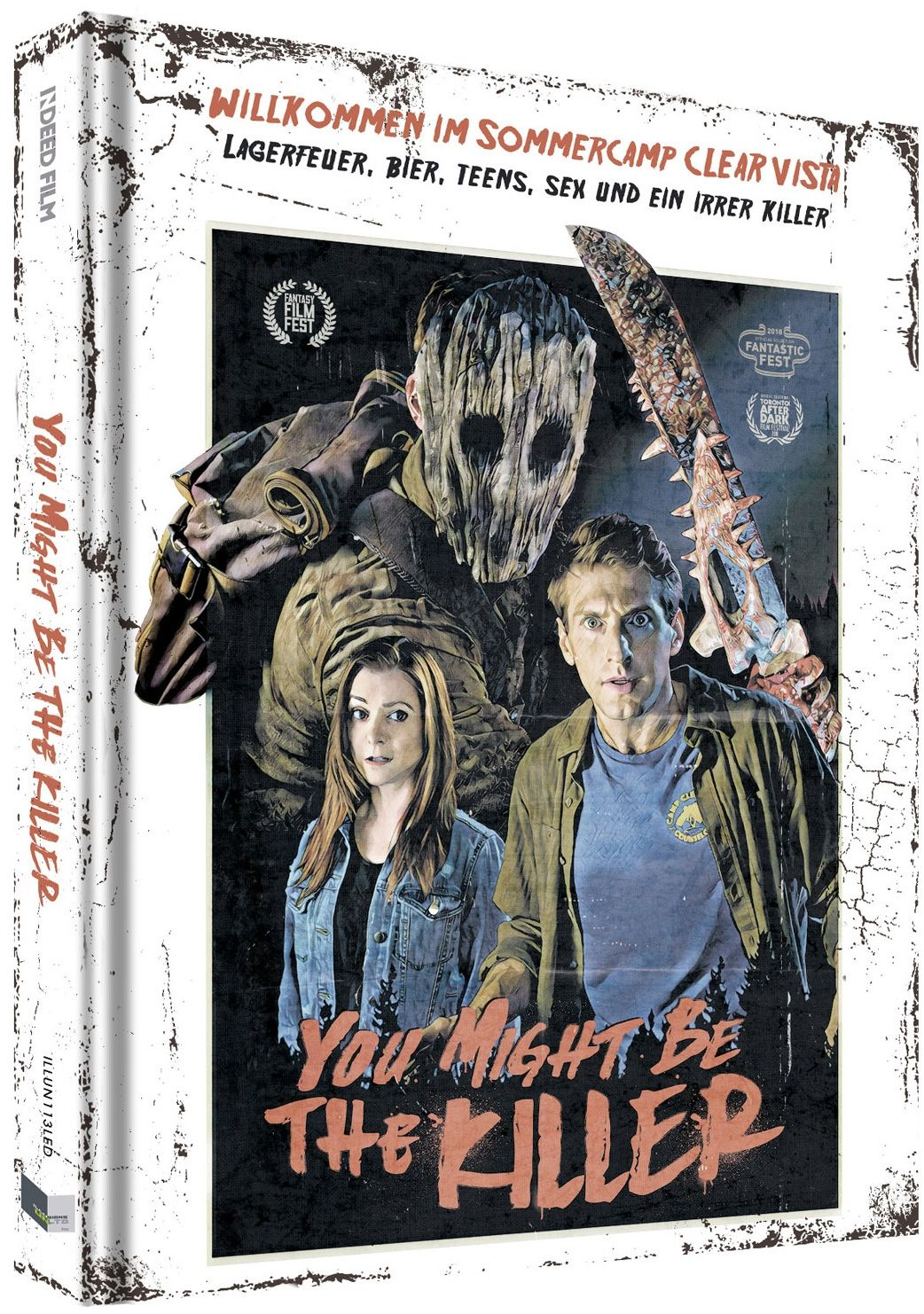 You Might Be the Killer (Lim. Uncut Mediabook - Cover D) (DVD + BLURAY)