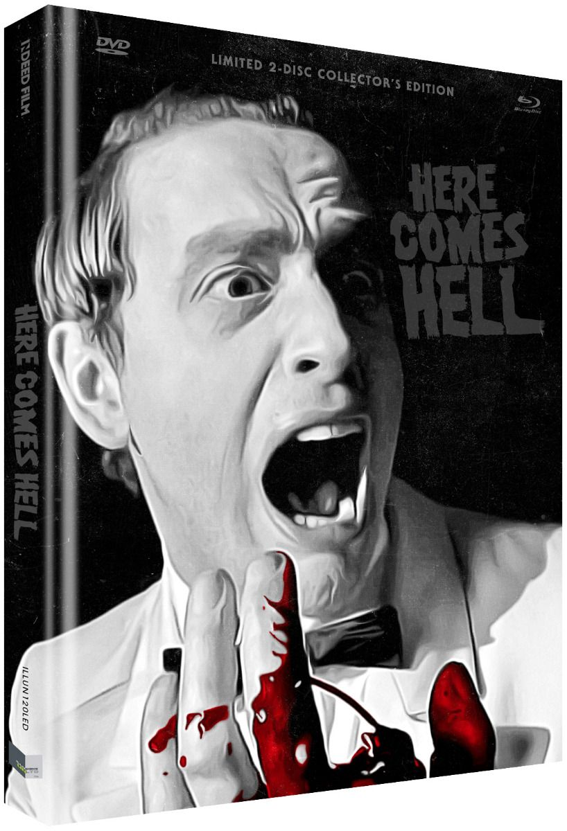Here Comes Hell (Lim. Uncut Mediabook - Cover D) (DVD + BLURAY)