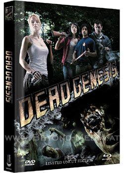 Dead Genesis (Lim. Uncut Mediabook - Cover A) (DVD + BLURAY)
