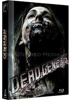 Dead Genesis (Lim. Uncut Mediabook - Cover B) (DVD + BLURAY)