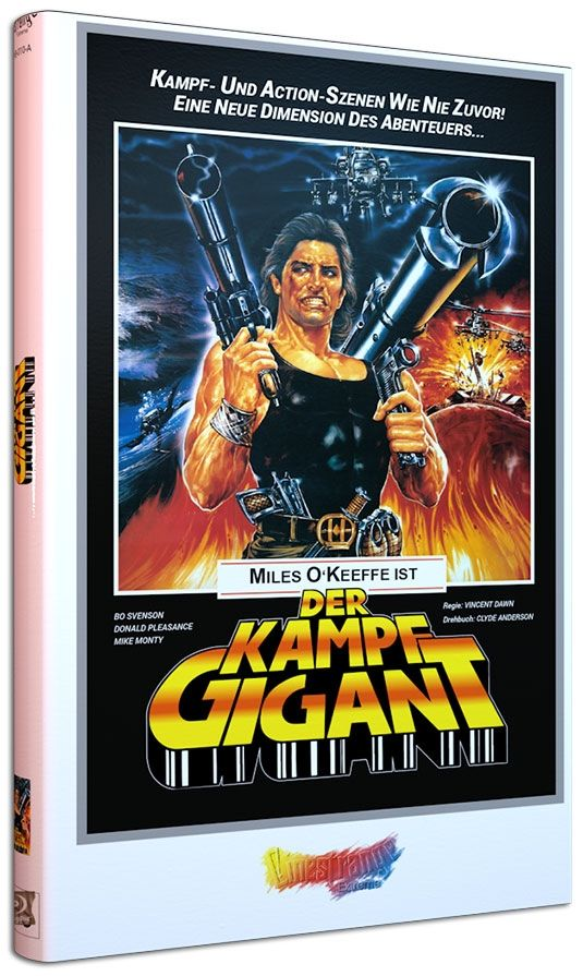 Kampfgigant, Der (Lim. gr. Hartbox - Cover A) (BLURAY)