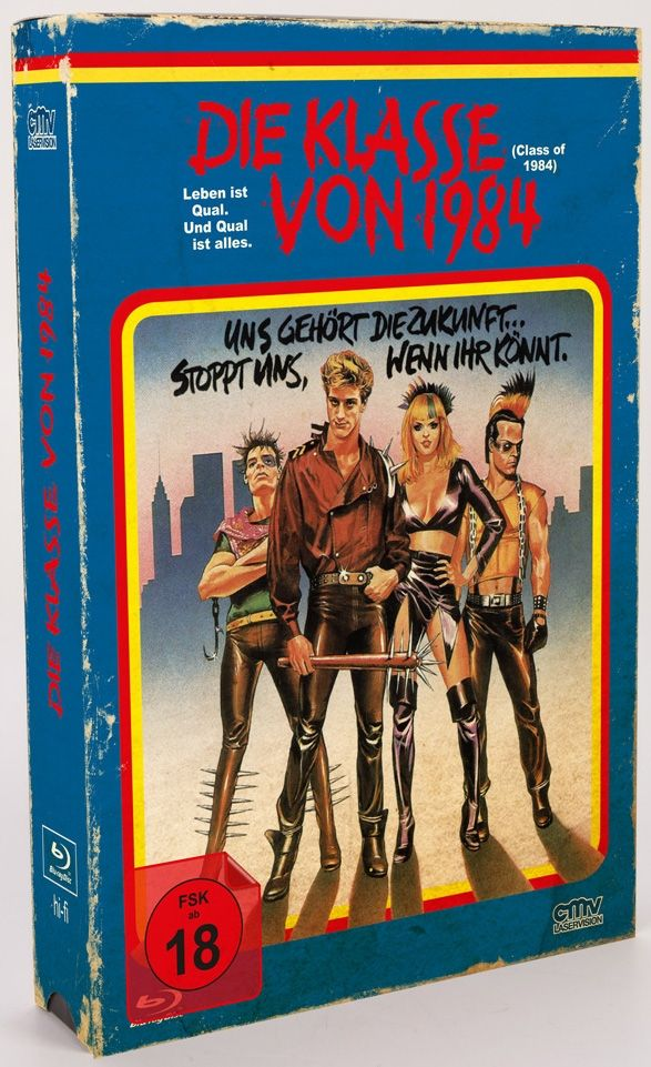 Klasse von 1984, Die (Lim. Uncut VHS Edition) (DVD + BLURAY)