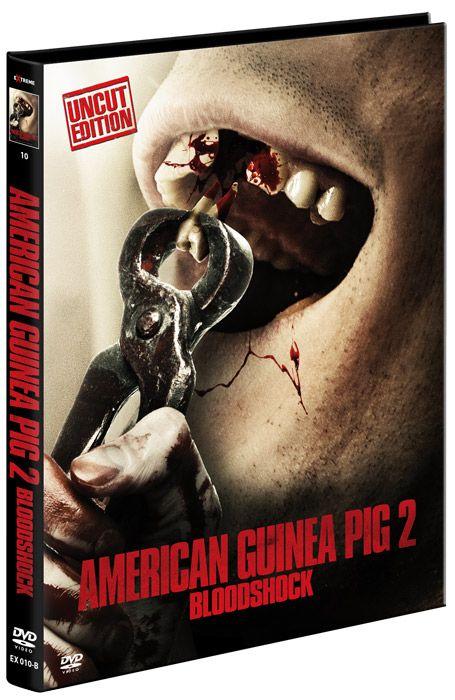 ** B-WARE ** American Guinea Pig 2 - Bloodshock (Lim. Uncut Mediabook - Cover B) (2 Discs) ** B-WARE **