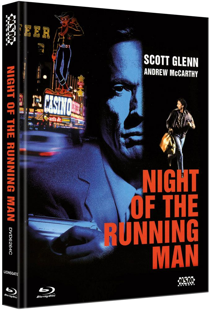 Night of the Running Man (Lim. Uncut Mediabook - Cover C) (DVD + BLURAY)