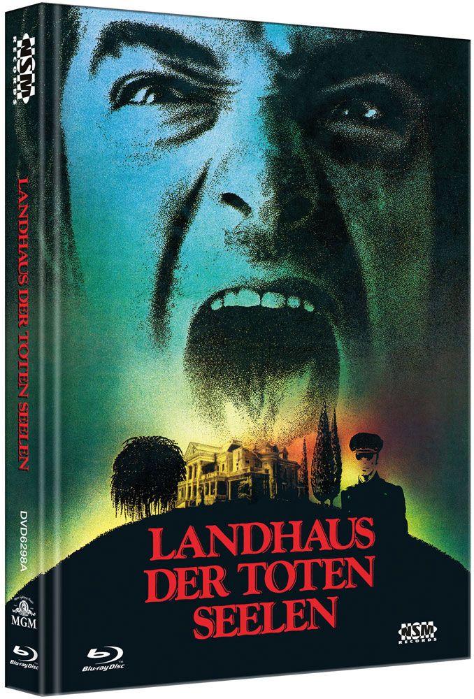 Landhaus der toten Seelen (Lim. Uncut Mediabook - Cover A) (DVD + BLURAY)