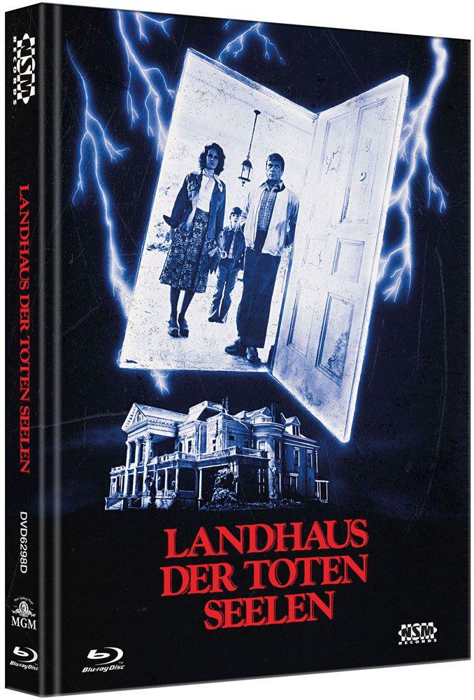 Landhaus der toten Seelen (Lim. Uncut Mediabook - Cover D) (DVD + BLURAY)