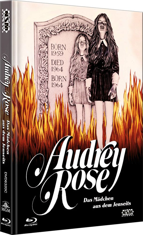 Audrey Rose - Das Mächen aus dem Jenseits (Lim. Uncut Mediabook - Cover C) (DVD + BLURAY)