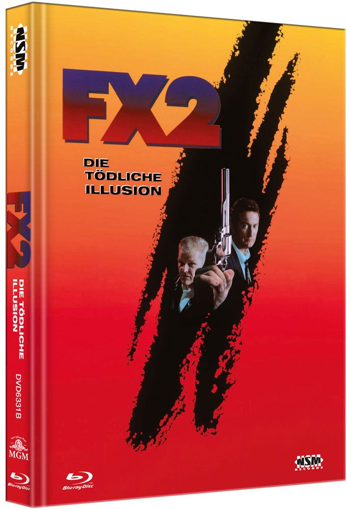 F/X 2 - Die tödliche Illusion (Lim. Uncut Mediabook - Cover B) (DVD + BLURAY)