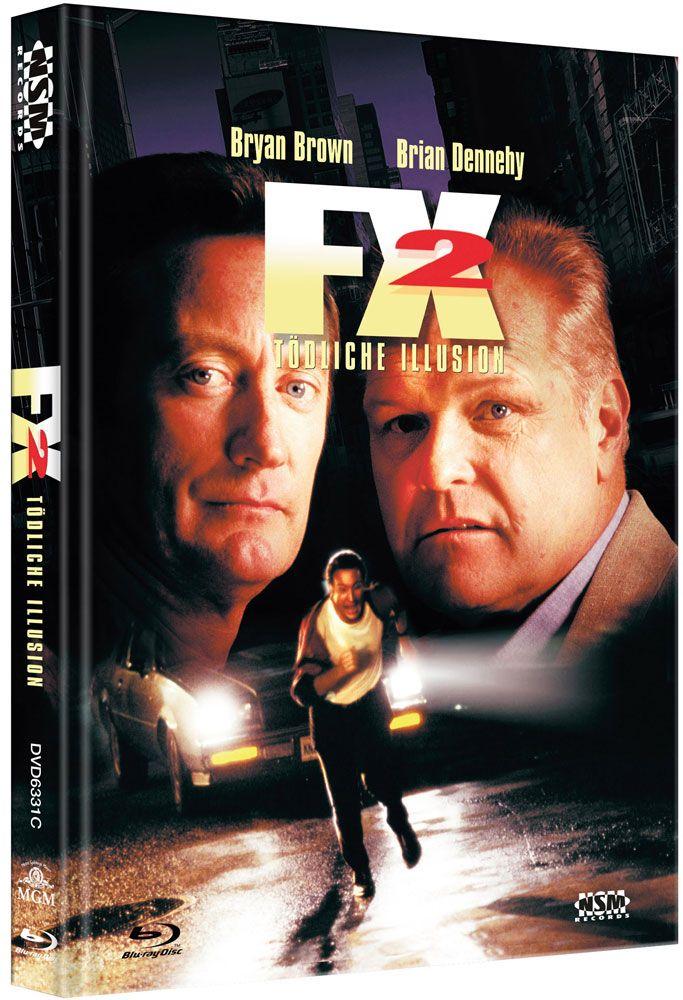 F/X 2 - Die tödliche Illusion (Lim. Uncut Mediabook - Cover C) (DVD + BLURAY)