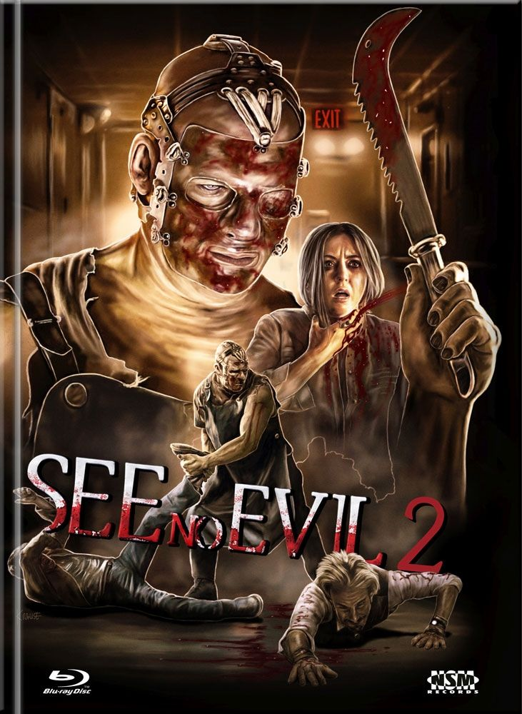 See No Evil 2 (Lim. Uncut Mediabook - Cover C) (DVD + BLURAY)