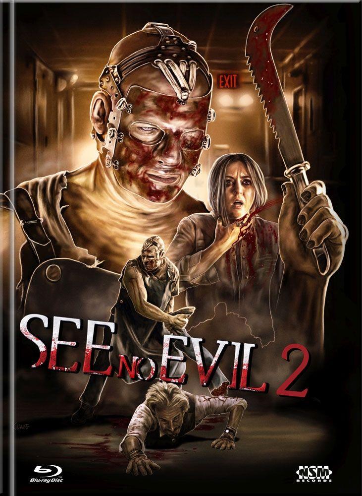 See No Evil 2 (Lim. Uncut Mediabook - Cover D) (DVD + BLURAY)