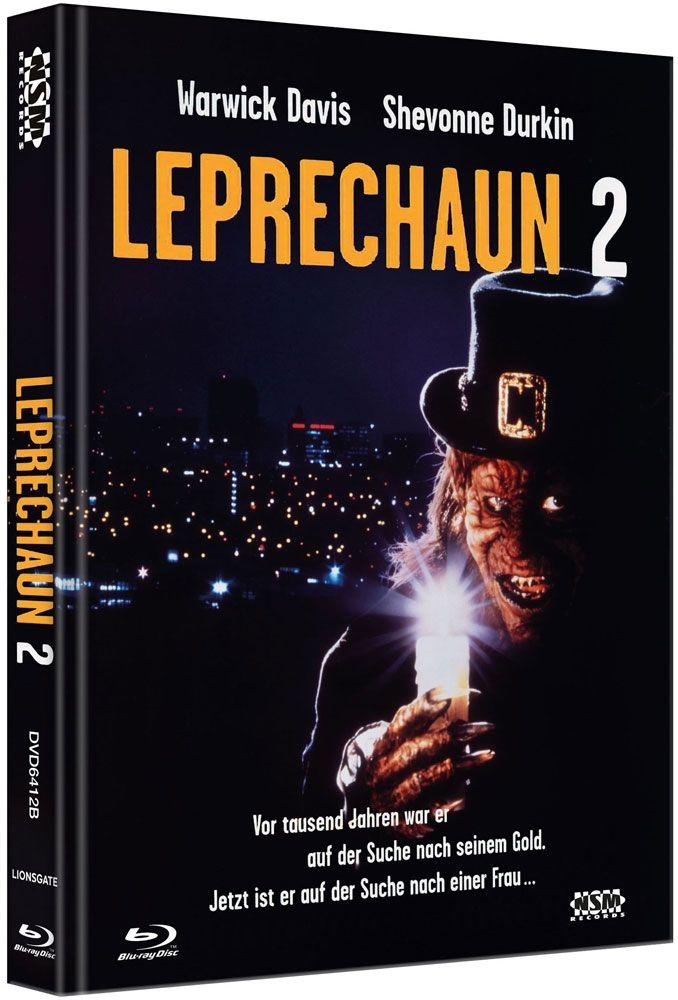 Leprechaun 2 (Lim. Uncut Mediabook - Cover B) (DVD + BLURAY)