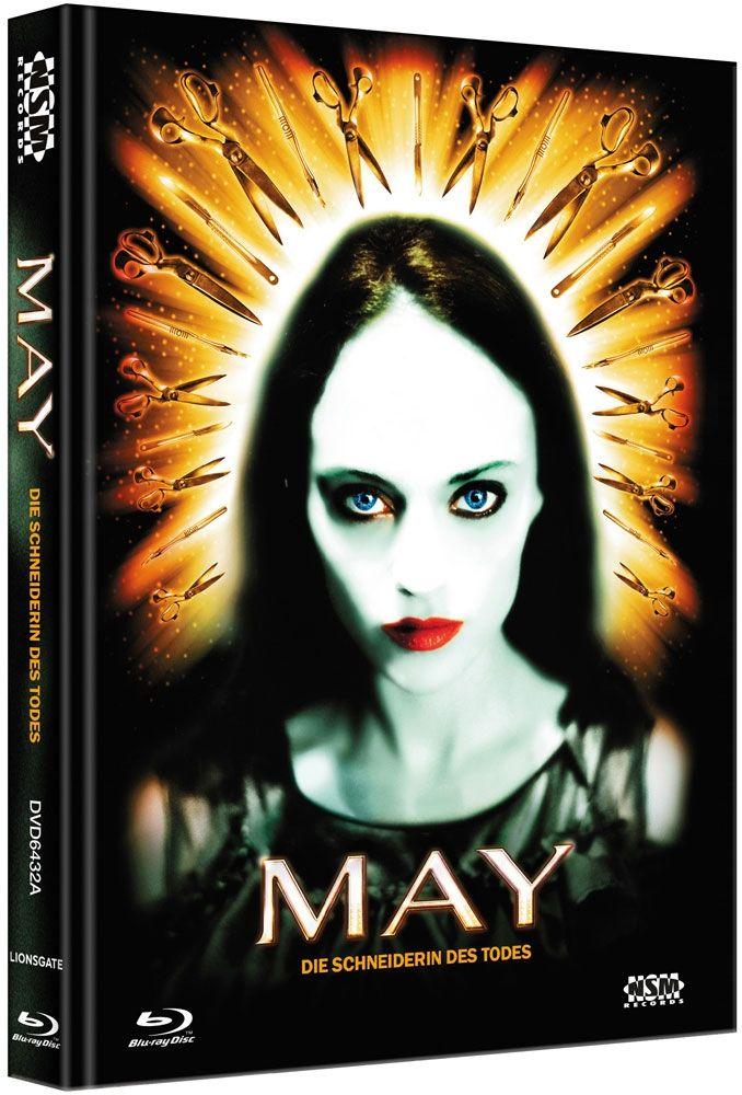May - Die Schneiderin des Todes (Lim. Uncut Mediabook - Cover A) (DVD + BLURAY)