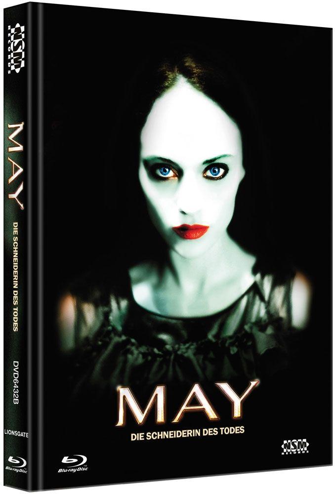 May - Die Schneiderin des Todes (Lim. Uncut Mediabook - Cover B) (DVD + BLURAY)