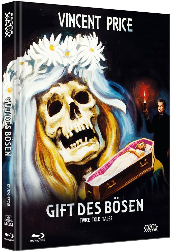 Gift des Bösen (Lim. Uncut Mediabook - Cover B) (DVD + BLURAY)