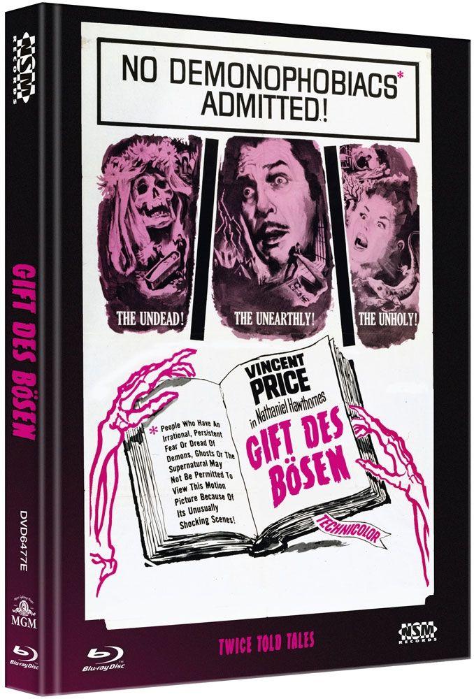 Gift des Bösen (Lim. Uncut Mediabook - Cover E) (DVD + BLURAY)