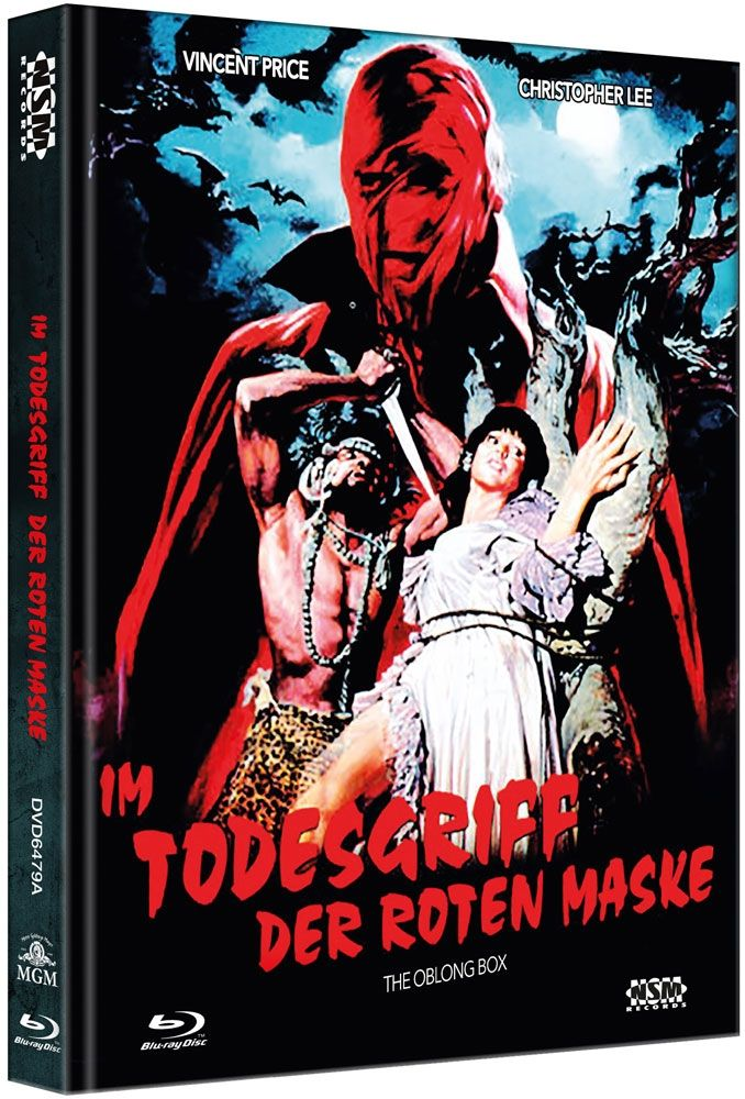 Im Todesgriff der Roten Maske (Lim. Uncut Mediabook - Cover A) (DVD + BLURAY)