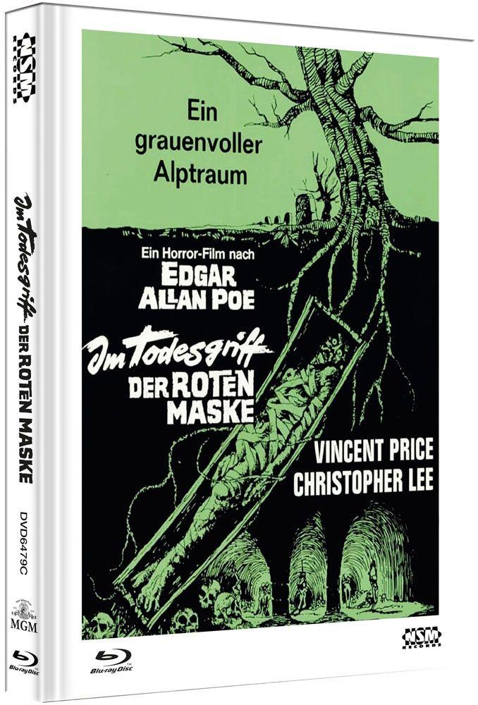 Im Todesgriff der Roten Maske (Lim. Uncut Mediabook - Cover C) (DVD + BLURAY)